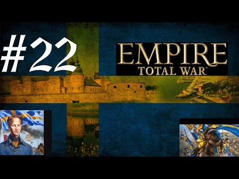 Total War Empire:Darthmod Sweden Campaign #22 The battle of moscow fortress