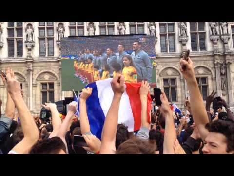 France 2-0 Nigeria CDM 8ème Hôtel de Ville