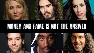 Download Lagu Celebrities Speak Out On Fame & Materialism Gratis STAFABAND