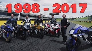 Yamaha YZF R1 History (1998 - 2017) | Story Behind The New R1