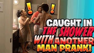 CAUGHT IN THE SHOWER WITH DEE PRANK ON FUNNYMIKE!!