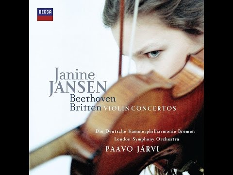 Janine Jansen - Beethoven, Violin Concerto (1st Mov)