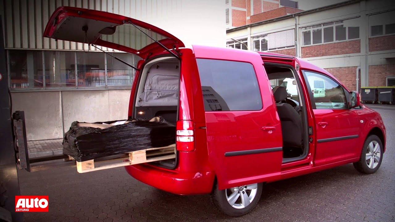 vw caddy 1 2 tsi bluemotion 2012 im test praktischer. Black Bedroom Furniture Sets. Home Design Ideas
