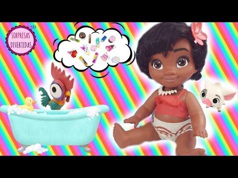 Bebé Moana Aventuras de la muñeca - Lo más divertido en un sólo vídeo