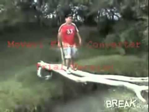 What fat people falling funny
