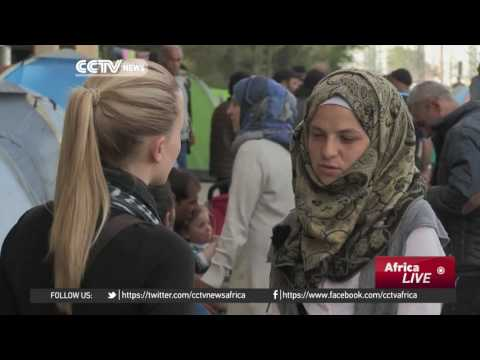 Thousands of refugees living in squalor in Greek camps