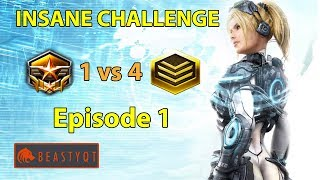 StarCraft 2: Grandmaster 1 vs 4 Gold Players - INSANE Challenge - Episode 1