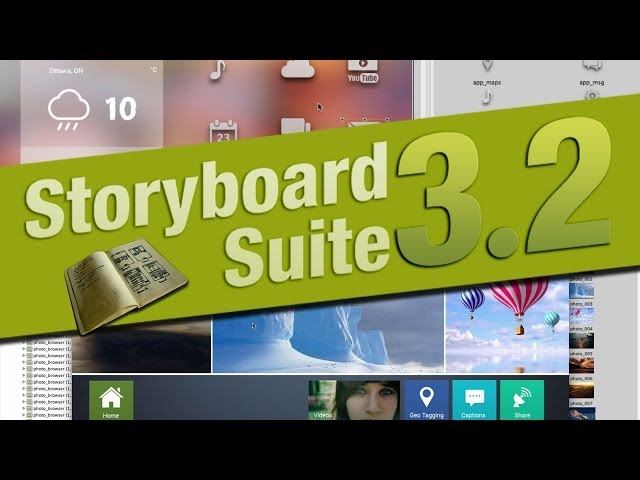 Storyboard Suite 3.2 - New Features Overview