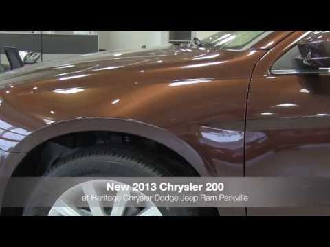 New 2013 Chrysler 200 Sedan Video Tour MD | Chrysler Dealer Parkville