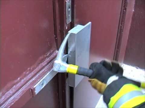 Firefighter Training Magnetic Lock Youtube