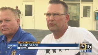 Mark Grace talks about time  behind bars
