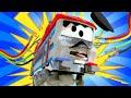 Поезд Трой -  ПОЕЗД ЭЛЕКТРИК Трой спасает друзей от удара током! - детский мультфильм