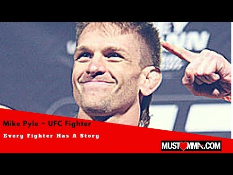 MMA FIGHTER MIKE PYLE PRE FIGHT INTERVIEW UFCONFX3