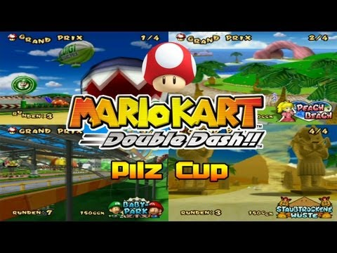 Let's Play Mario Kart Double Dash!! Part 1: Pilz Cup 150ccm
