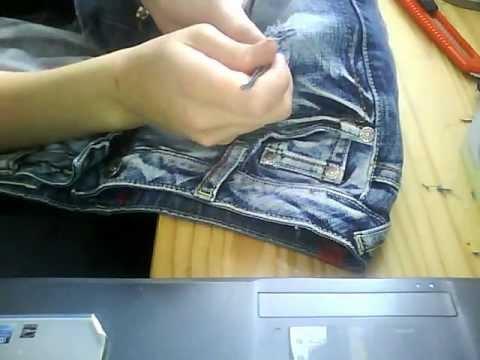l cher f r eine zerrissene jeans youtube. Black Bedroom Furniture Sets. Home Design Ideas