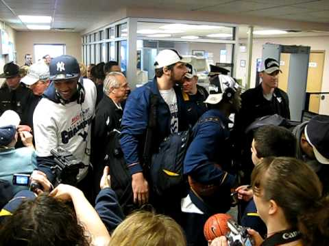 WVU Basketball 2010 Big East Champs!! Video