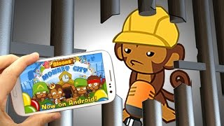 BMC Mobile - City Level 13 - Engineer Rescue Mission (Great Monkey Escape)