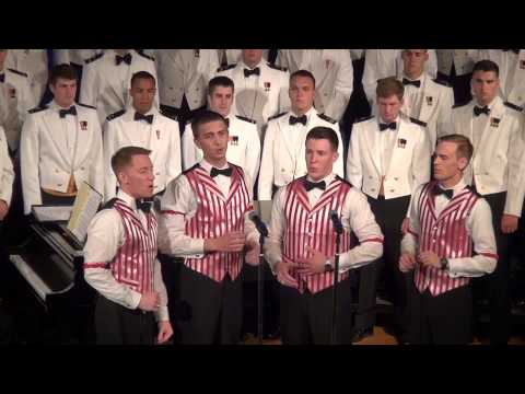 USNA  Barber Shop Quartet's An Irish Lullaby