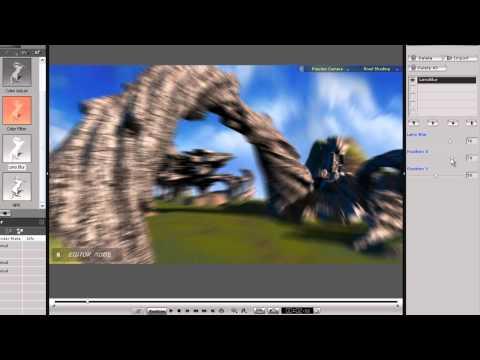 iClone5 Quick Fix Tutorial – Post FX