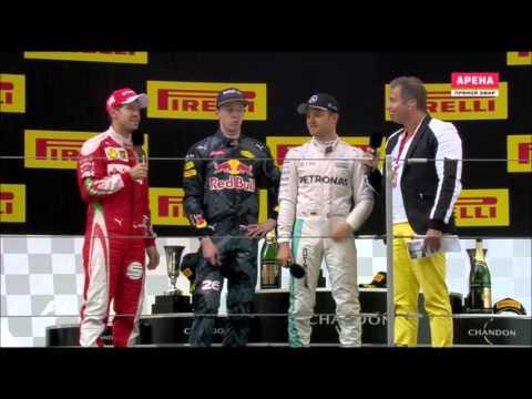 Квят vs Феттель Гран При Китай, 2016
