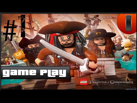Gameplay Lego Piratas do Caribe By Takedown_BR