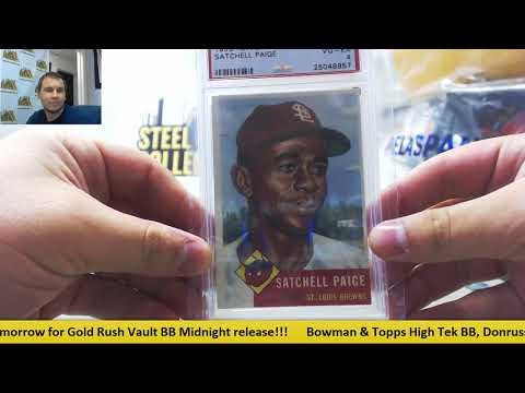 2017 Gold Rush Vault Baseball Random Dual Spot Snake Draft Group Break #1!!!