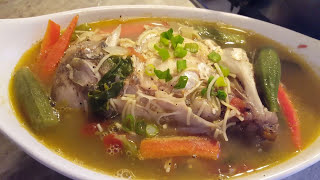 Steamed fish head  from scratch Guyanese Style
