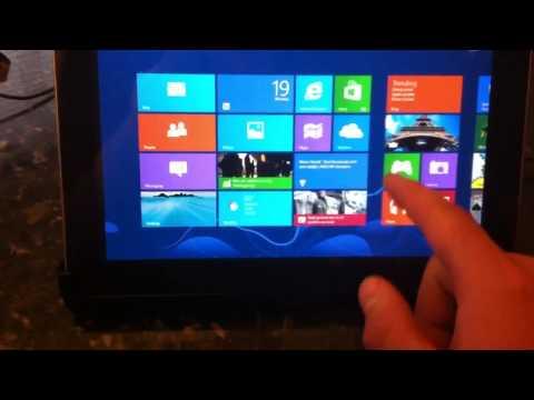 Galaxy tab 10.1 windows 8 testbed