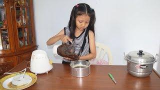 Main Masak Masakan Anak Perempuan Buat Oreo Cake