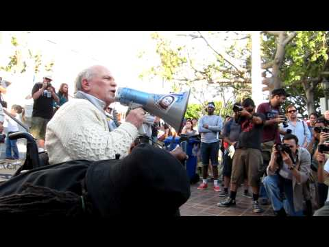 Ron Kovic powerful speech at OCCUPY LA