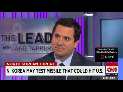 Nunes discusses North Korea, Middle East, Russia on CNN