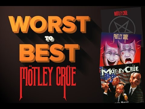 Motley Crue Albums - Ranked Worst To Best video
