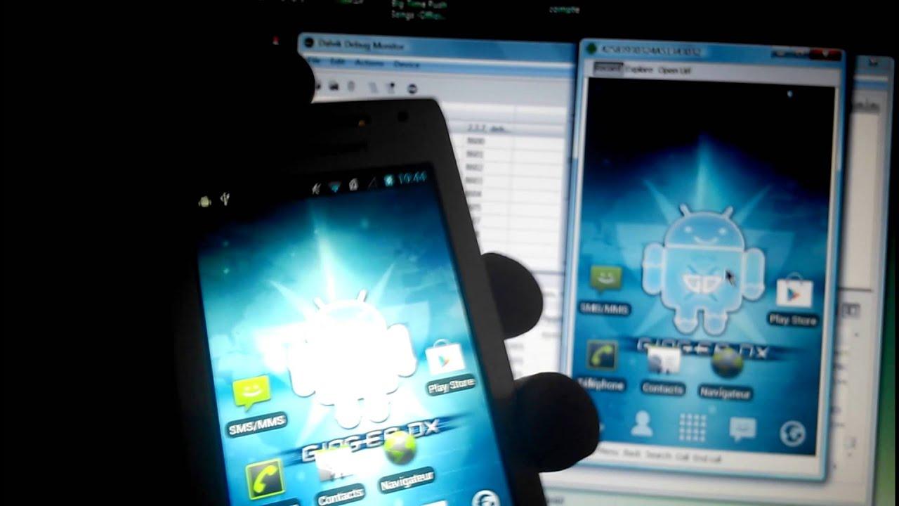 Comment afficher ecran smartphone sur pc for Miroir pc ecran