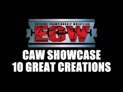 WWE 13: CAW TOP 10 - ECW