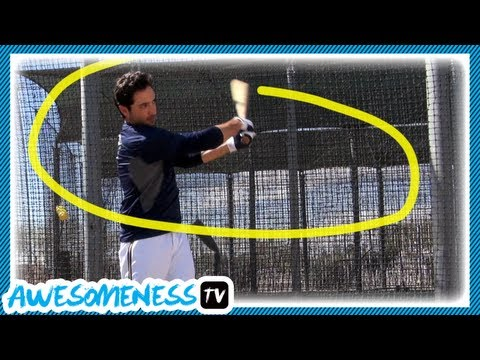 How to Hit a Baseball with Ryan Braun - How To Be Awesome Ep. 1