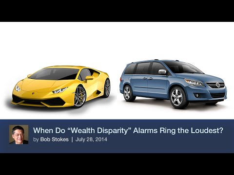 "When Do ""Wealth Disparity"" Alarms Ring the Loudest?"
