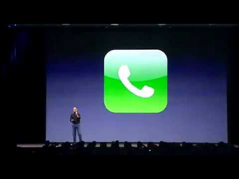 Apple iPhone 1G introduction by Steve Jobs (1/2)
