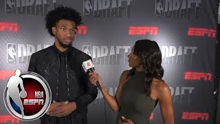 [FULL] Marvin Bagley III says he's become more mature during 2018 NBA draft process   NBA on ESPN
