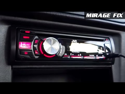 Mirage Fix   Install JVC KD-R540 Stereo System - Ep.2