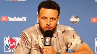 Steph Curry Game 3 postgame interview | 2019 NBA Finals