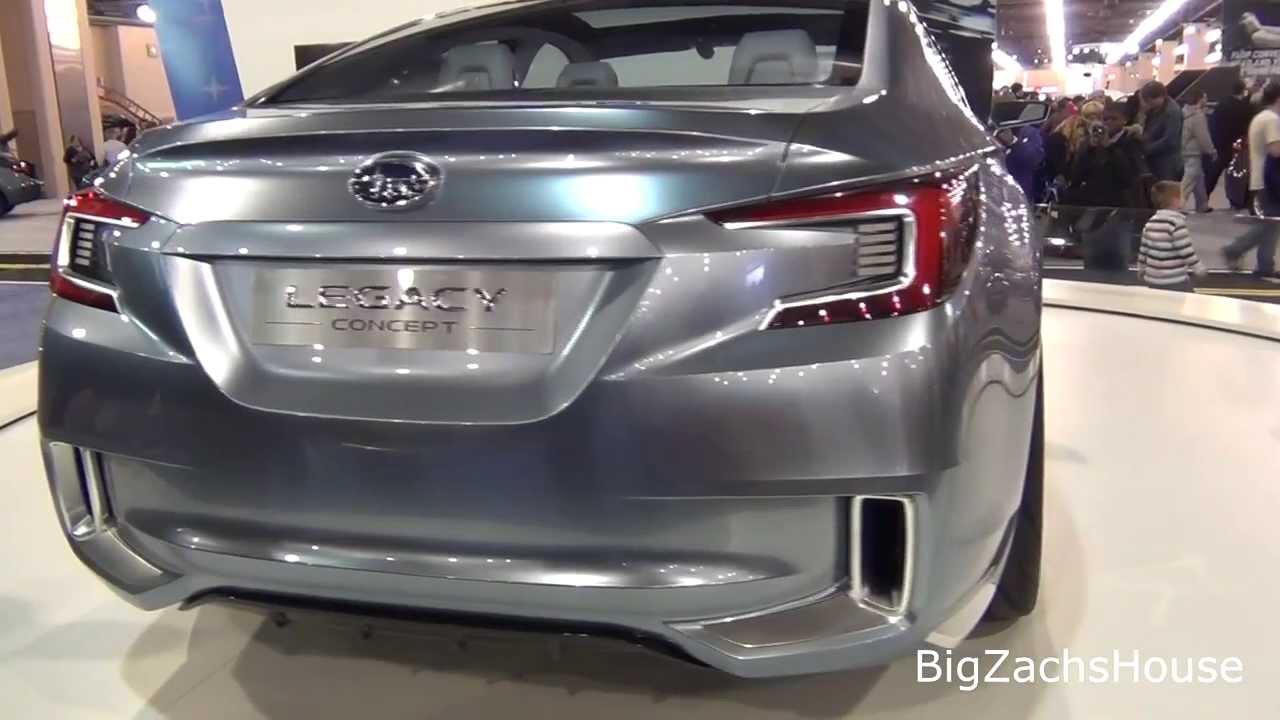 2015 Subaru Legacy Concept Car 2015 Subaru Legacy Concept Car