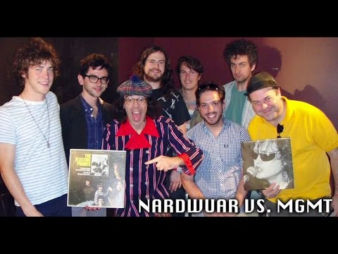 Nardwuar vs. MGMT
