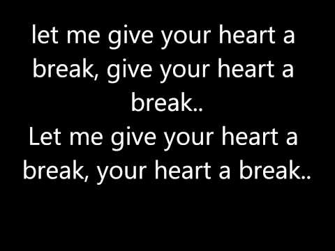 Official Give Your Heart A Break Lyrics Video Demi Lovato