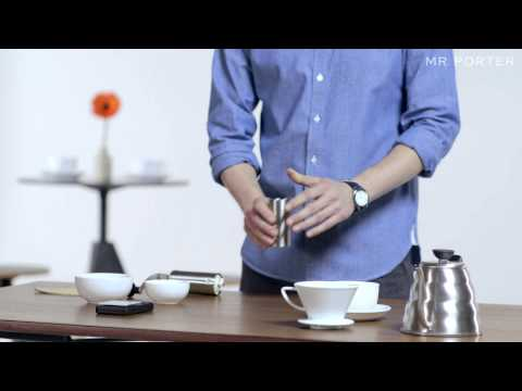 HOW TO MAKE A GREAT COFFEE AT HOME -- MR PORTER & FERNANDEZ AND WELLS