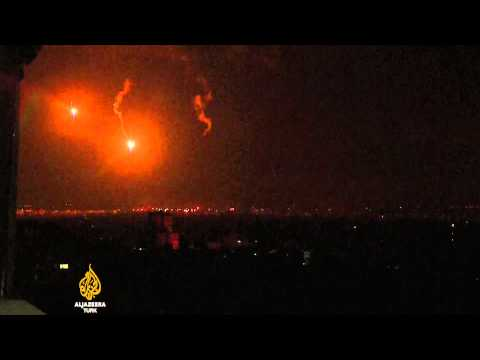 İsrail ordusu Gazze'ye karadan girdi