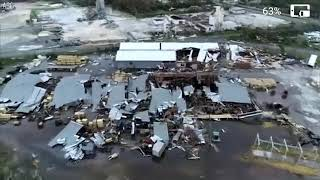 Hurricane Michael drone video: Aerials show destroyed buildings in Panama City Beach