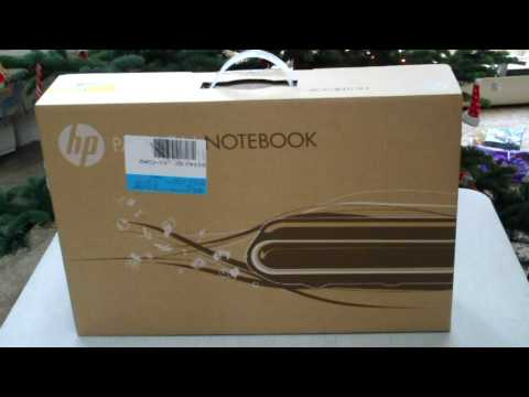 HP Pavilion Notebook Unboxing