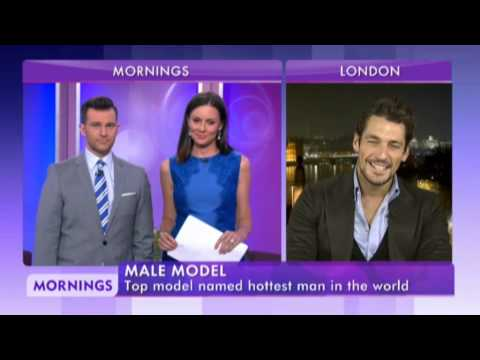 David Gandy on MORNINGS Australia (02/10/2014)