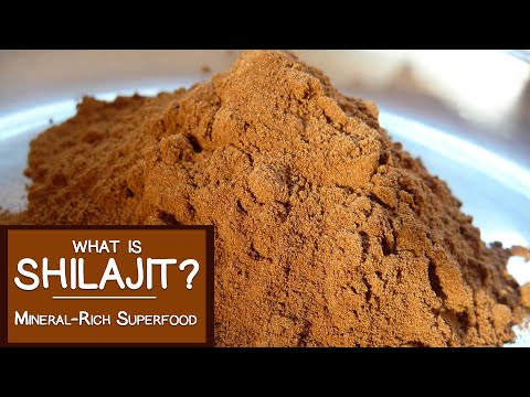 What is Shilajit? A Mineral-rich Superfood Adaptogen