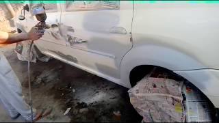 How to Fix Scratch of Mahindra Renault Left Side Windows